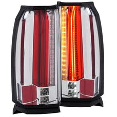 AnzoUSA 311277 LED Taillights Chrome