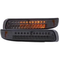 AnzoUSA 511070 LED Parking Lights Smoke with Amber Reflector