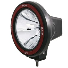"AnzoUSA 861093 7"" HID Off Road Fog Lamp with AnzoUSA Red bezel"