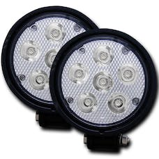 "AnzoUSA 881002 4.5"" Round High Power LED Fog Light"