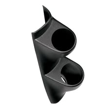 AutoMeter Products 10100 Dual Pillar Gauge Pod, Black