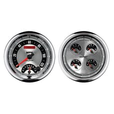 """AutoMeter Products 1205 2 piece 5"""" Kit (1212, 1295) American Muscle"""