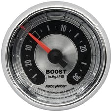 AutoMeter Products 1208 Vac/Boost Gauge, 2-1/16""