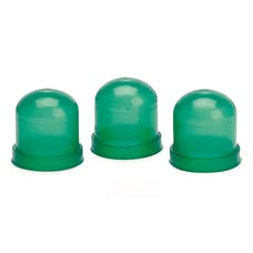 AutoMeter Products 3215 Light Bulb Boots; Green; qty. 3