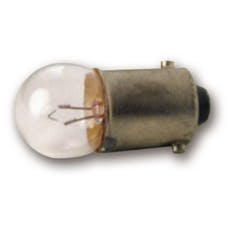 AutoMeter Products 3216 Bulb; Bayonet; 3W; Replacement; Auto Gage; qty. 2