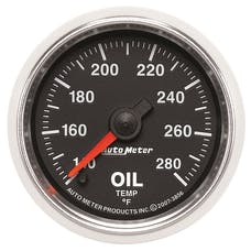 AutoMeter Products 3856 2-1/16in Oil Temp  140- 280 F  FSE  GS