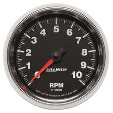 AutoMeter Products 3897 Gauge; Tachometer; 3 3/8in.; 10k RPM; In-Dash; GS