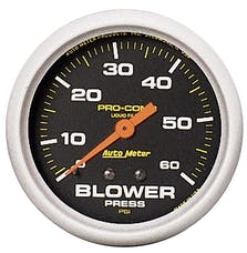 AutoMeter Products 5403 Blower Press  0-60 PSI