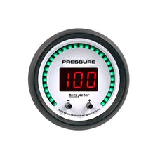 "AutoMeter Products 6752-PH Gauge, Pressure, 2 1/16"", Two Channel, Selectable, Phantom Elite Digital"