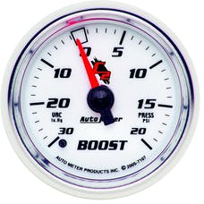 AutoMeter Products 7107 Boost/Vac  30 In. Hg/20 PSI