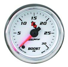 AutoMeter Products 7160 Gauge; Boost; 2 1/16in.; 30psi; Digital Stepper Motor; C2