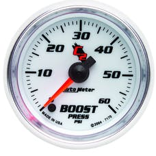 AutoMeter Products 7170 Boost  0-60 PSI