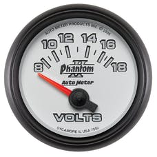 AutoMeter Products 7592 Voltmeter 8-18 volts