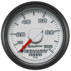 """AutoMeter Products 8526 2-1/16"""" Exhaust Pressure 0-100 psi, mech, Dodge Match"""