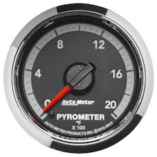AutoMeter Products 8547 Gauge; Pyro. (EGT); 2 1/16in.; 2000deg.F; Stepper Motor; Ram Gen 4 Fact. Match