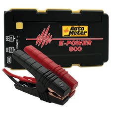 AutoMeter Products EP-800 Jump Starter Emergency Battery Pack 12V, 800A peak, 2220 mah