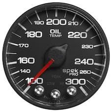 "AutoMeter Products P552328-N1 2-1/16"" Water Temperature Gauge 180- 320`F, BFB, ECU, Spek Pro Nascar"