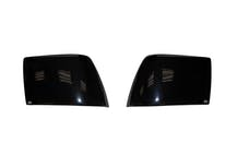 AVS 31604 Tail Shades Taillight Covers 2 pc. Smoke Blackout