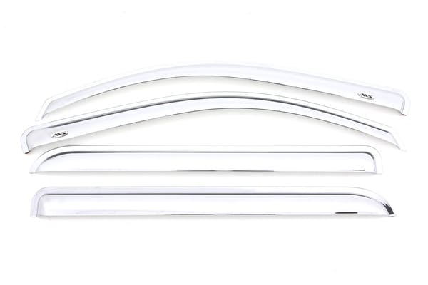 AVS 684536 Chrome Ventvisor Deflector 4 pc. Outside Mount
