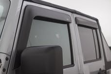 AVS 774034 Ventvisor Low Profile Deflector 4 pc. Matte Black