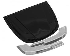 AVS 80010 Truck Cowl Scoop 2 1/2 in. x 18 1/4 in. x 23 in. Smoke Large
