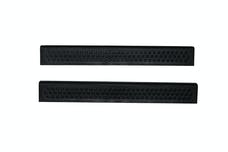 AVS 88958 Stepshield Door Sill Protector Black 2 pc. Custom Front