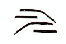AVS 94074 Ventvisor Deflector 4 pc. Smoke In-Channel Mount