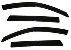 AVS 94187 Ventvisor Deflector 4 pc. Smoke Outside Mount