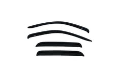 AVS 94656 Ventvisor Deflector 4 pc. Smoke Outside Mount