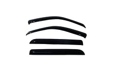 AVS 94819 Ventvisor Deflector 4 pc. Smoke Outside Mount
