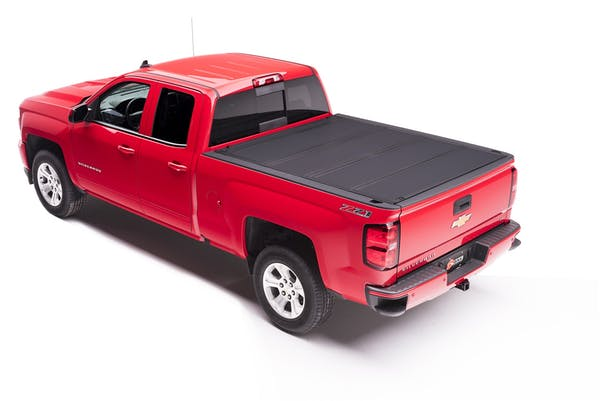 BAK Industries 448131 BAKFlip MX4 Hard Folding Truck Bed Cover, Matte Finish