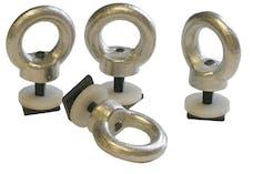 BAK Industries FGWR010-1 CS Rack Accessory - SLIDING TIE DOWNS (LOAD BAR) - Set of 4 (311A0025)