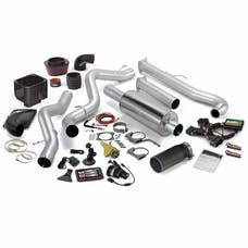Banks Power 46000-B Stinger Bundle, Power System with Single Exit Exhaust, Black Tip