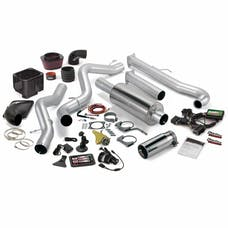 Banks Power 46001 Stinger Bundle, Power System with Single Exit Exhaust, Chrome Tip
