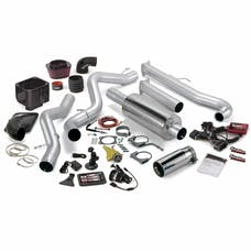 Banks Power 46017 Six-Gun Bundle, Power System with Single Exit Exhaust, Chrome Tip