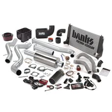 Banks Power 46022-B Big Hoss Bundle, Complete Power System with Single Exhaust, Black Tip