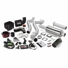 Banks Power 46030-B Stinger Bundle, Power System with Single Exit Exhaust, Black Tip