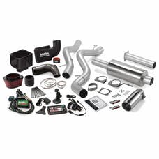 Banks Power 46032 Stinger Bundle, Power System with Single Exit Exhaust, Chrome Tip