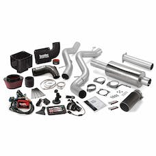 Banks Power 46037-B Six-Gun Bundle, Power System with Single Exit Exhaust, Black Tip