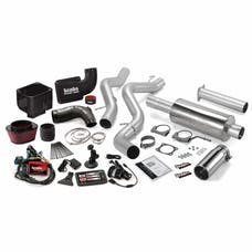 Banks Power 46038 Six-Gun Bundle, Power System with Single Exit Exhaust, Chrome Tip