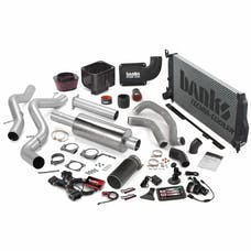 Banks Power 46040-B Big Hoss Bundle, Complete Power System with Single Exhaust, Black Tip