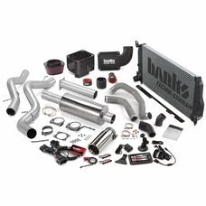 Banks Power 46041 Big Hoss Bundle, Complete Power System with Single Exhaust, Chrome Tip