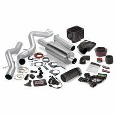 Banks Power 46048-B Stinger Bundle, Power System with Single Exit Exhaust, Black Tip