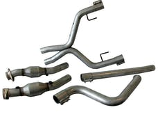 BBK Performance Parts 4011 High Flow True Dual  Exhaust Conversion