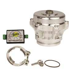 BD Diesel Performance 1047251SS Turbo Guard Kit-Dodge 1994-1998 12-valve Steel Adapter/Silver Valve