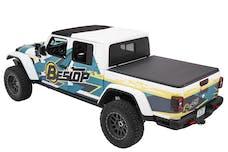 Bestop 16280-17 EZ-Fold Soft Tri-Fold Tonneau Cover, Jeep Gladiator