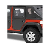 Bestop 51799-17 Jeep Wrangler JKU Full 2-Piece Fabric Doors