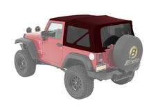 Bestop 54822-68 Jeep Wrangler JK Supertop Soft Top