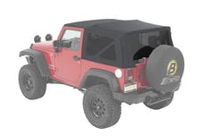 Bestop 54822-70 Jeep Wrangler JK Supertop Soft Top