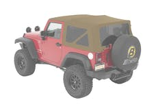 Bestop 54822-74 Jeep Wrangler JK Supertop Soft Top